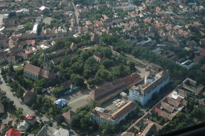 A cetatea medievala