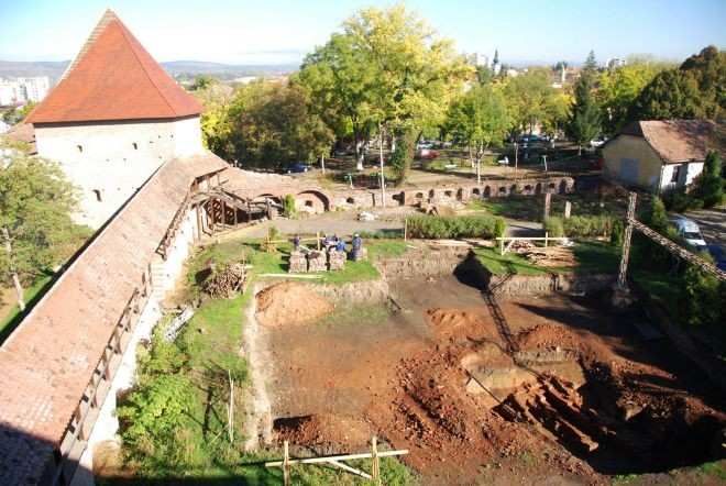 D cetatea medievala