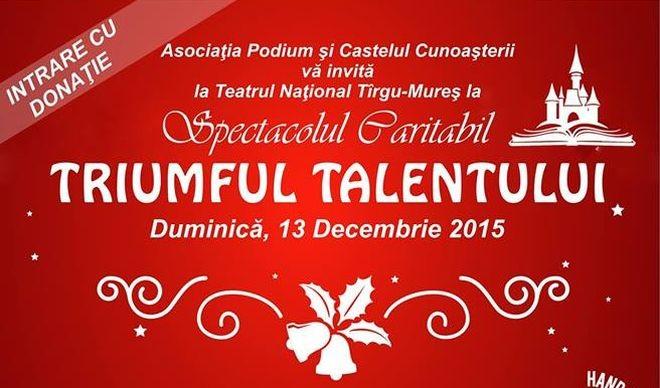 triumful talentului