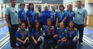 Electromures Romgaz, Popice feminin, Campioane pentru a 27-a oară, Victorie în derbyul la popice feminin