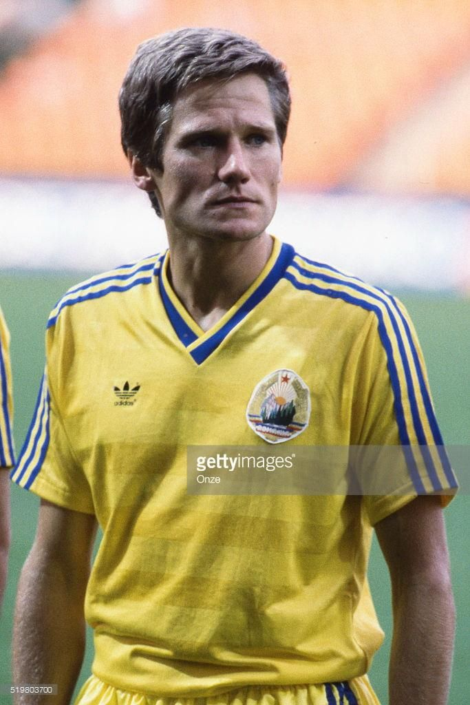 Laszlo Boloni during the Football European Championship ( Euro 1984 ) between Romania and West Germany at Stade Felix Bollaert, Lens, France on 17 June, 1984 ( Photo by Max Colin / Onze / Icon Sport via Getty Images )