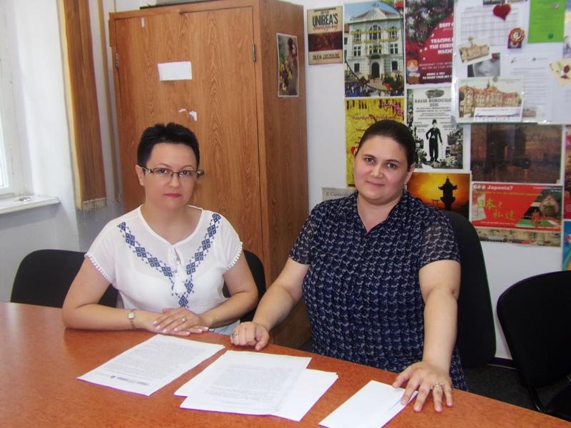 Andreea Năznean și Maria Motorga, Colegiul Național Unirea