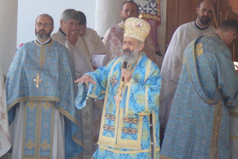 ÎPS Irineu, Sânmartinu de Câmpia, Sfânta Maria Mare