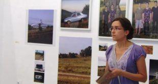 Criticul de artă Kata Ungvári-Zrínyi a prezentat artiștii și lucrările expuse. Camera K'arte