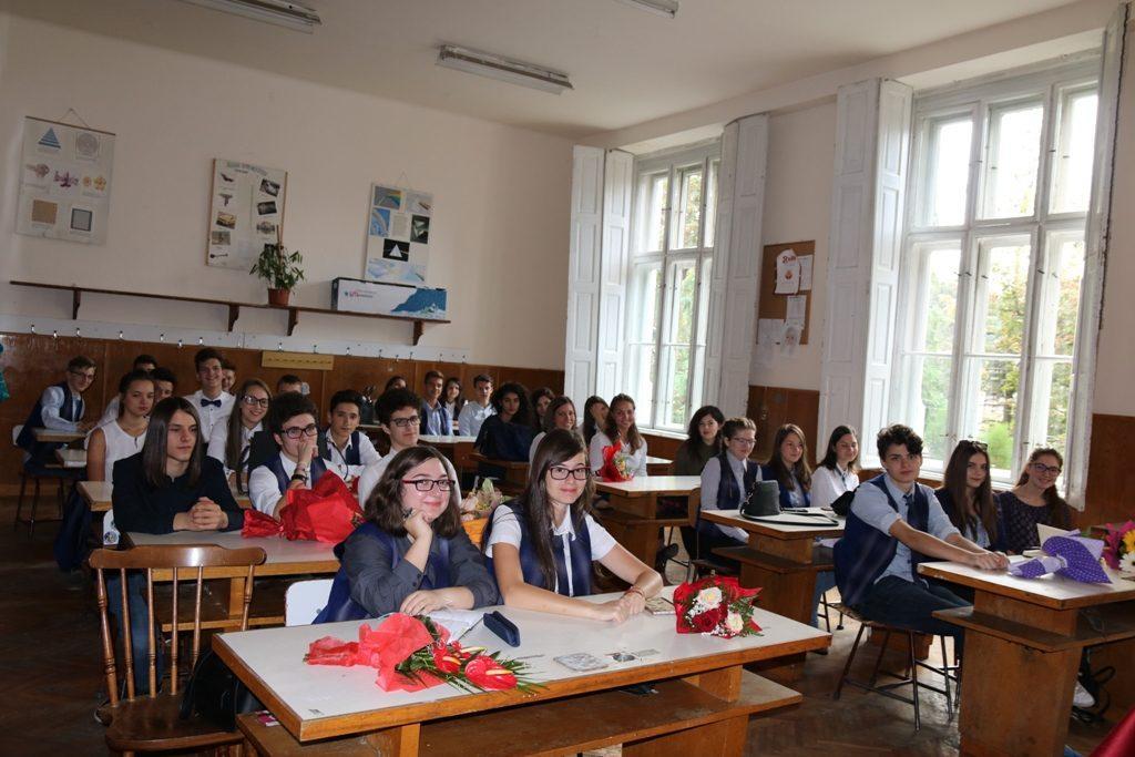 Prima zi de școală la Unirea