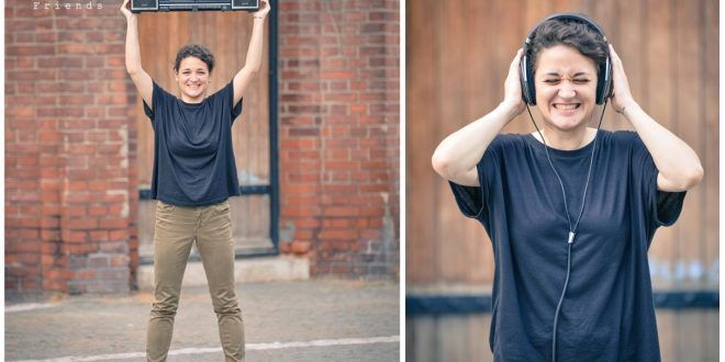 """Mara Mărăcinescu: """"I like playing with sounds and encouraging people to open up their ears"""" (foto: vladcioplea.ro)"""