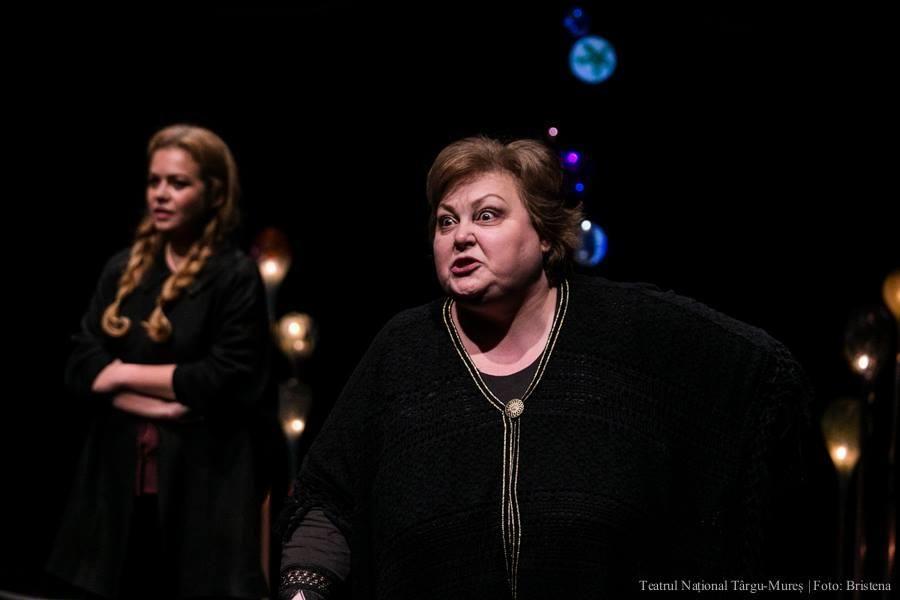 """Monica Ristea și Roxana Marian în """"Limba maternă"""" (foto: Cristina Gânj)"""