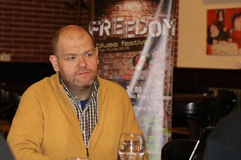 József Demeter, organizatorul Freedom Blues Festival Tîrgu-Mureș
