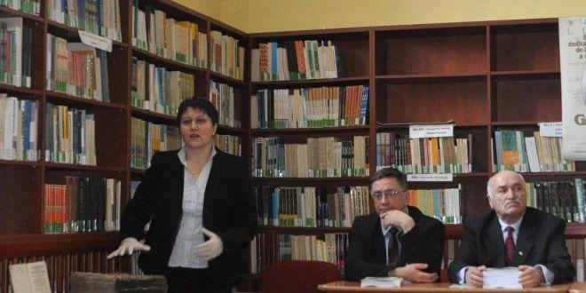 Monica Avram, directorul Bibliotecii Județene Mureș