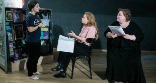 Monica Ristea, Roxana Marian și Carmen Ghiurco, în Limba maternă – Mameloschn