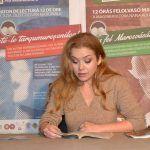 """Roxana Marian a citit versuri de Mihai Eminescu și un pasaj din romanul """"Lumânările ard până la capăt"""" de Márai Sándor"""