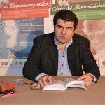 """Petru Istrate a citit din romanul său """"Băștinașul"""", publicat anul acesta"""