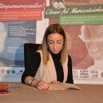 Simona Boantă a citit poezii de Mihai Eminescu