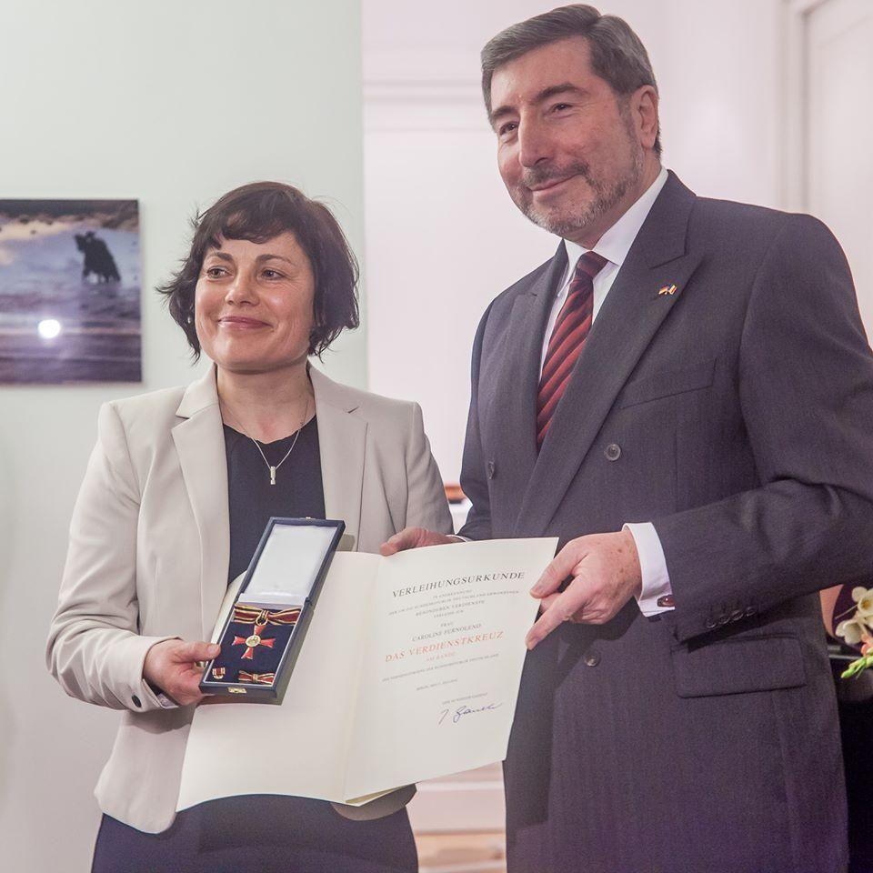 Mihai Eminescu Trust Caroline Fernolend