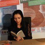 """Flavia Adam a citit din volumul poetului Ion Horea, """"Mărturisiri și rugăciuni"""""""