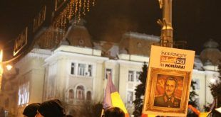Protest in Tirgu Mures joi seara