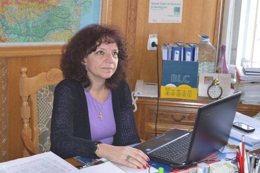 Adela Ciulea, Liceul Ion Vlasiu