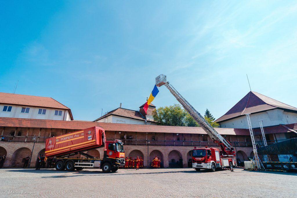 Demonstrații de Ziua Pompierilor